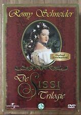 DE SISSI - ROMY SCHNEIDER - TRILOGIE - 3 DVD