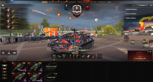 World of Tanks Account WOT EU  7x Tier8 Prem | 4x Tier X | NOT BONUS CODE