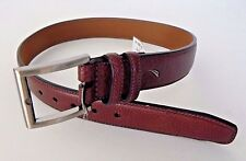 Nautica Handcrafted Genuine Leather Belt Brown Youth Size 22 New With Tags