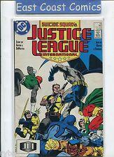 JUSTICE LEAGUE INTERNATIONAL #13 SUICIDE SQUAD - VERY FINE DC