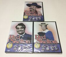 A Lot Of 3 Red Skelton DVD's See Photos For Episodes, New & Sealed, Free Shippin