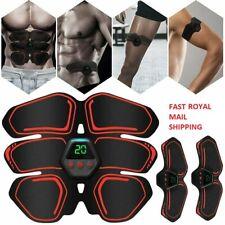 EMS Abdominal Muscle Toning Trainer ABS Stimulator Toner Fitness Belt Exerciser