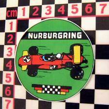 1970's Nurburgring Glass Sticker - German Classic Car Circuit Racer Decal