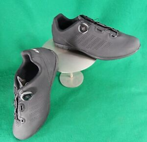 GARNEAU Men's Black Biking Shoes w/ BOA fitting system (size 11.5 US / 45 EU)