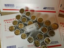 24 Unsearched Bank Rolls ($600) Presidential, Sacagawea, & S.B.A. Dollar Coins
