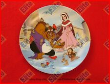 """Beauty and The Beast Collectors Plate """"Warming Up"""" by Knowles/Disney"""