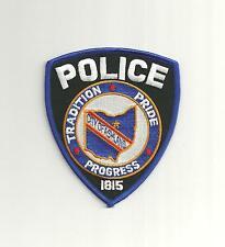 ASHLAND OHIO POLICE PATCH /