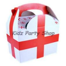 10 St Georges Flag World Cup Food Party Boxes - Free Post in UK