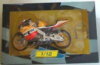 IXO HONDA race bikes ROSSI MELANDRI DOVIZIOSO PEDROSA STONER DOOHAN 1:12th