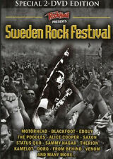 2 DVDs * VARIOUS ARTISTS - SWEDEN ROCK FESTIVAL # NEU ~