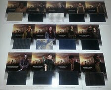 MORTAL INSTRUMENTS CITY OF BONES WARDROBE/COSTUME 13-CARD complete SET