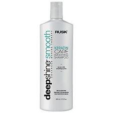 Rusk Deep Shine Smooth Keratin Care Smoothing Shampoo (33.8 Fl Oz)