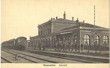 Amanweiler-Amanvillers bei Metz-Bahnhof von der Gleisseite-Ansichtskarte um 1910
