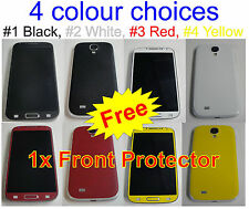 Samsung Galaxy S4 Matte Carbon Fiber Full Body Skin sticker *Choice of Colours*
