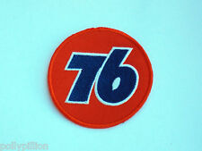 MOTOR RACING RALLY NASCAR SEW/IRON ON PATCH:- UNION PRODUCT 76 GASOLINE BALL