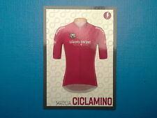 Figurine Panini 100 Giro d'Italia n.  4 Maglia Ciclamino