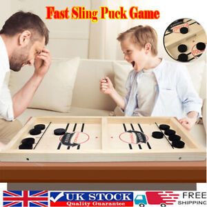 Fast Sling Puck Game Paced SlingPuck Winner Board Family Games Toy Xmas Gifts tp