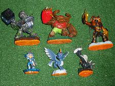 5 SKYLANDERS SPYRO'S ADVENTURE GIANTS FIGURES SWARM TERRAFIN +