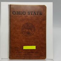 Ohio State University Spiral Notebook Logans Bookstore 8 inches Columbus