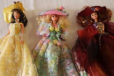 Limited Edition Barbie Enchanted Seasons Autumn Summer Spring Set of 3 1995
