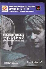 JAPAN Silent Hill 2 Official Kanzen Kouryaku & World Guide Book