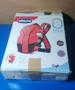 Chicco Marsupio Go Baby Carrier Black (with instruction manual)