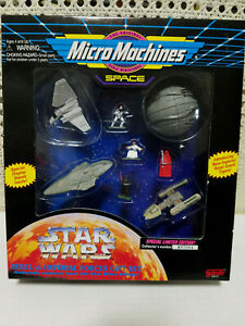 Micro Machines space Star Wars Rebel VS. Imperial forces gift set