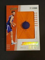 2019 Panini Absolute GOLD /10 Ty Jerome RC Jumbo Hat Rookie One of a Kind Patch