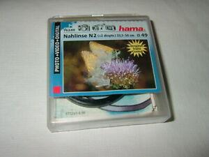 HAMA 76249 ~ Nahlinse N2 ~ 49 mm  ....  (F104)