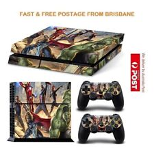 Avengers PS4 Playstation 4 Console Controller Decal Skin Sticker NEW