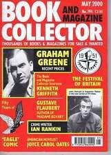 GRAHAM GREENE / IAN RANKIN / EAGLE COMICBook Collectorno.194May2000