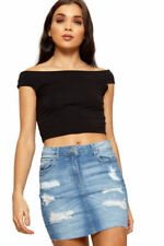 Cotton Regular Size Mini Skirts for Women