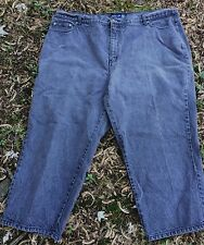 Venezia Stretch Jeans Size 26 Gray Denim 100% Cotton 5 Pocket Excellent