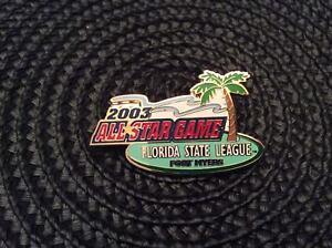 MLB 2003 Florida State League All Star Game Collectible Baseball Pin!