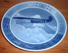 Promemoria piatto volo da Copenaghen a Tokyo 1926 di Royal-Copenhagen #1183