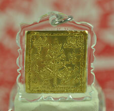Giant God Thao Wessuwan Asura Deva Protection Yantra Talisman Sheet Thai Amulet