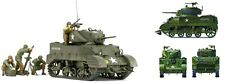US M5A1 WITH 4 FIGURES AND MORTAR  #35313 1/35 TAMIYA