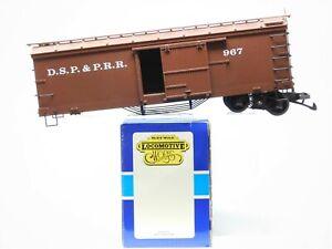 G Scale Delton Locomotive Works DSP&PRR Denver South Park & Pacific Box Car #967