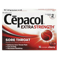 Cepacol Extra Strength Numbing Lozenge Cherry 16/Box 71016
