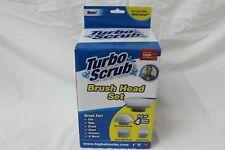 Turbo Scrub Extra 4 Pieces Brush Set