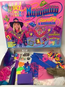 Vintage Lisa Frank Western Roundup Jewelry & Accessories Kit Fantastic Fashions