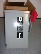 GE SAFETY SWITCH 30 AMPS / 240 VAC #TH4321R -  NEW IN BOX