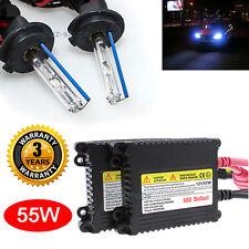 Slim 55W H7 Xenon Headlight HID Conversion Kit High Beam 10000K 10K Light Blue