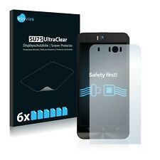 6x Savvies Screen Protector for Asus ZenFone Selfie ZD551KL Ultra Clear