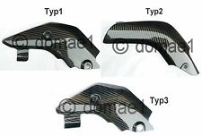 carbon heat shield exhaust protector cover  Honda CBR600RR PC37 PC40 2003-2010