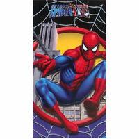 "SPIDER-MAN SPIDERMAN BEACH BATH POOL COTTON TOWEL 28"" x 58"" NEW"