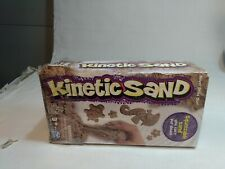 1 Kinetic Sand Brown 2 lb box item is New Box is Damaged Tt