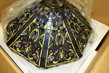 "RARE ~ Tejas Lighting ~ Jewel Mission ~ 5-Light 23"" Wide Pendant Shade ~ USA ~"