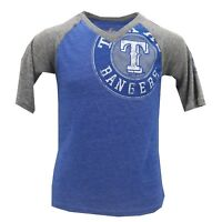 Texas Rangers Official MLB Majestic Genuine Kids Youth Girls T-Shirt New Tags