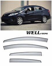 For 11-UP Ford Fiesta Sedan WellVisors Side Window Visors Aerodyn Series